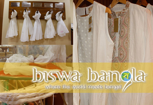 Muslin Products in high demand at Biswa Bangla outlets