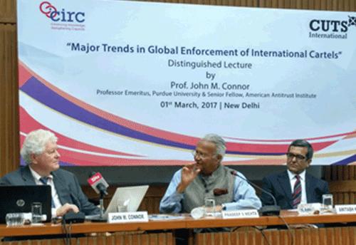 Call for proactive international enforcement against global cartels