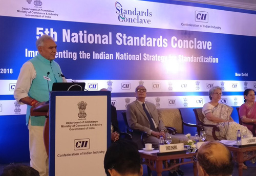 MSMEs are important Foreign Exchange Earners for India  and they should be supported in adopting International standards  says, Minister of State Commerce