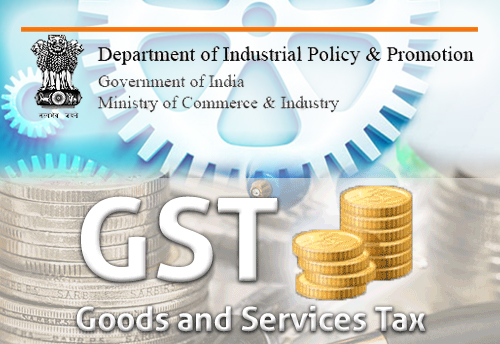 Setting up of GST Facilitation Cell in DIPP