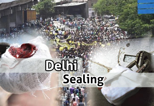 Temporary relief for Delhi traders from sealing till July 11