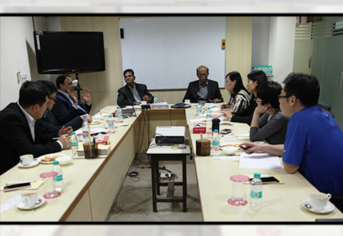 Delegation from Chinese IT SME - Beyondsoft  visits FISME