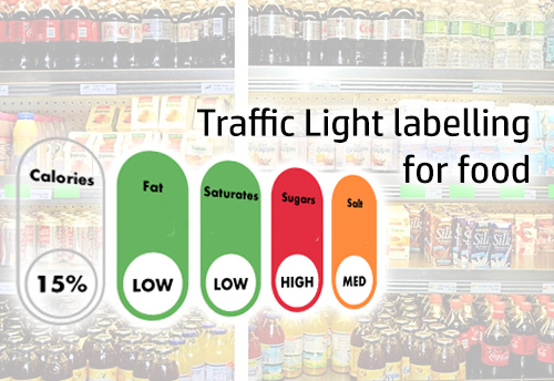 FSSAI comes up with traffic light labeling measure for packaged food and drinks