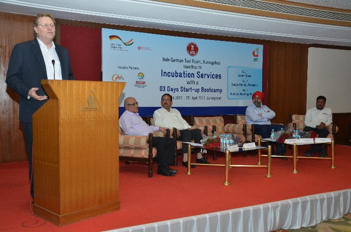 Indo-German Tool Room Aurangabad launches its incubation services with a 3-day start-up bootcamp