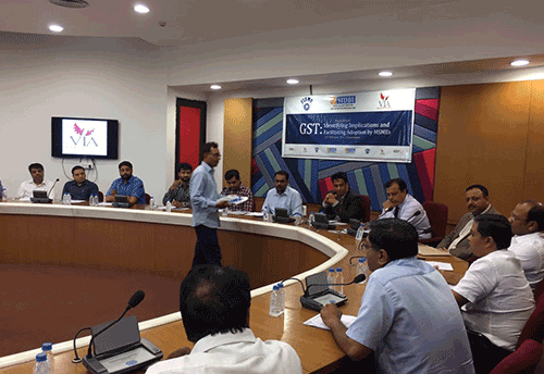 FISME-SIDBI organizes Roundtable on GST Implications for MSMEs in Ahmedabad