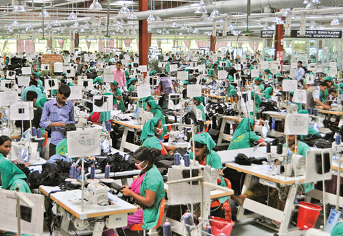 Garment manufacturer's rue over sharp fall in exports but the official databank on trade figures blank