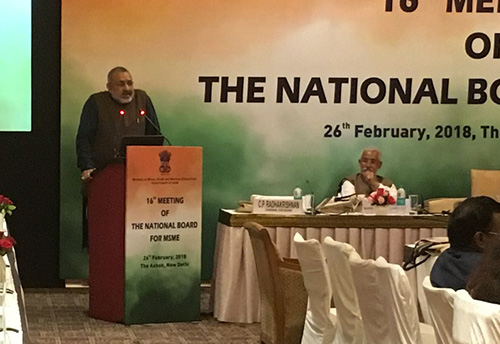 Govt committed to ensure 'stress-free' ecosystem for MSMEs: Giriraj Singh