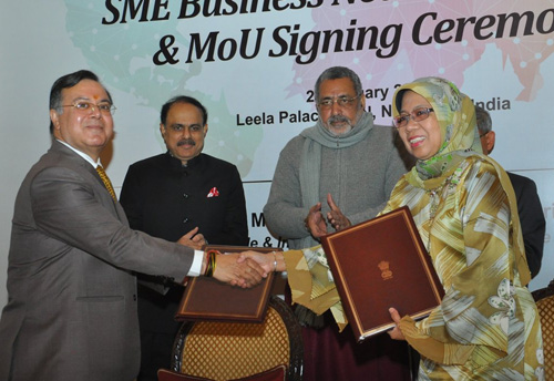 MSME Ministry inks pact with SME Corp of Malaysia, cooperation in SME sector on the agenda