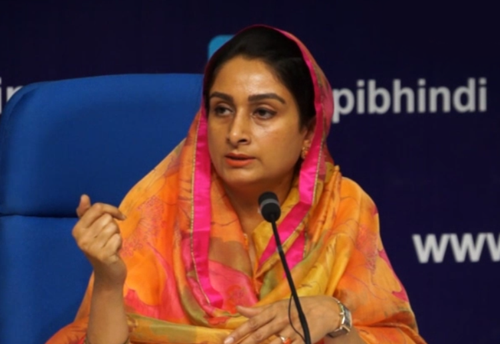 Need to set up Integrated Cold Chain Projects on war scale: Harsimrat Kaur Badal (Watch Video)