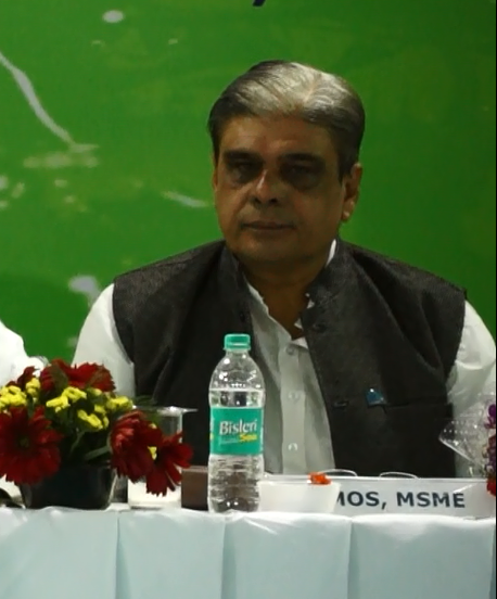 """Not all is well with """"Ease of doing business"""": Haribhai (MoS MSME)"""