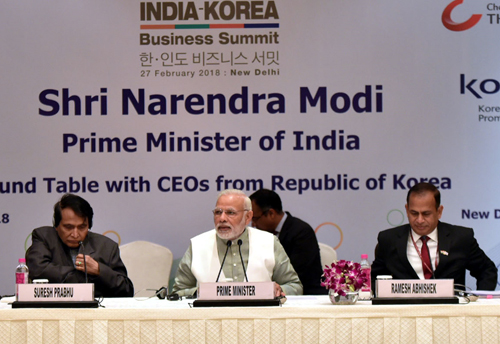Korea have huge potential to work together: PM Modi