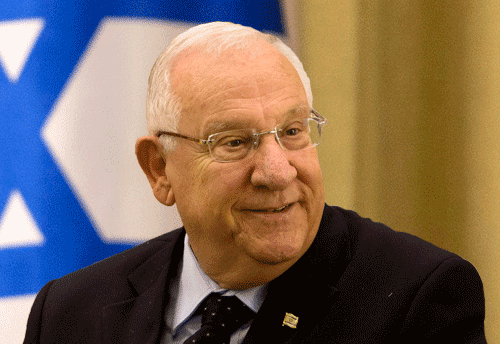 With India on war against terror, says Israeli President Reuven Rivlin
