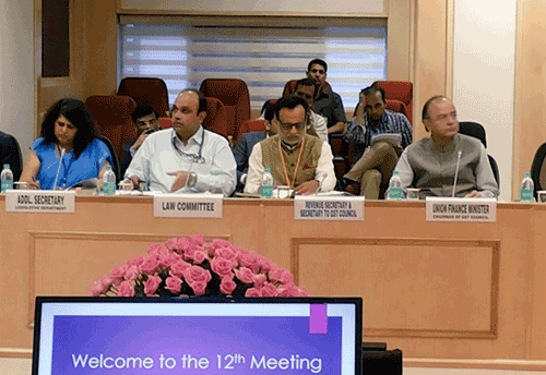 GST Council clears State GST & Union Territory GST laws; caps cess on luxury goods at 15%