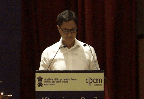 Not much has been done to protect products, need to build robust IPR mechanism: Rijiju