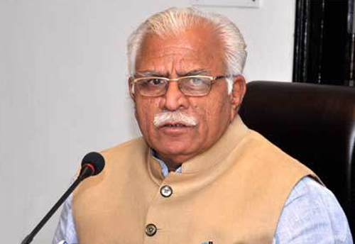 Haryana assembly polls on time: Manohar Lal Khattar