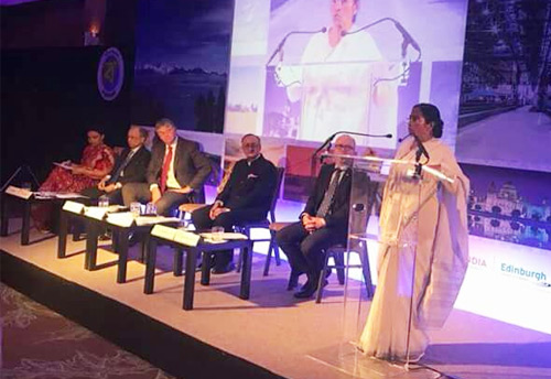 Mamata Banerjee travels to United Kingdom , but misses event