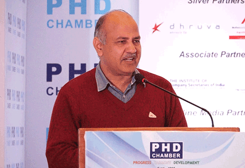 There is a need to thing from industry point of view before fixing tax rates under GST: Manish Sisodia (Watch Video)