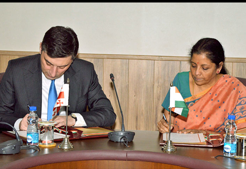 Joint Feasibility Study on the Free Trade Agreement between India and Georgia to be done