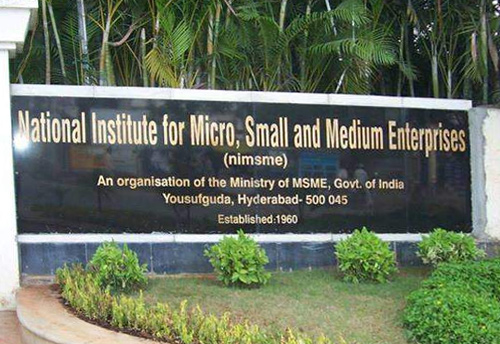 Ni-MSME Hyderabad launches full time Post Graduate Diploma in Entrepreneurship and Enterprise Development