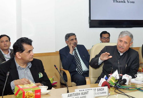 NITI Aayog holds conference on Union Budget 2018
