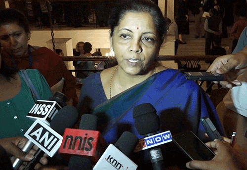 GST will help remove barriers between states: Sitharaman (Watch Video)