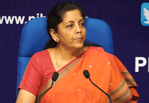 Exports and Industry performed well despite global headwinds: Sitharaman
