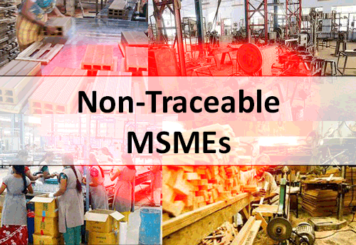 Around 1.9 lakh MSMEs are non- traceable: MSME Ministry