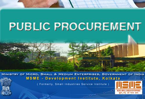 procurement process in small or micro