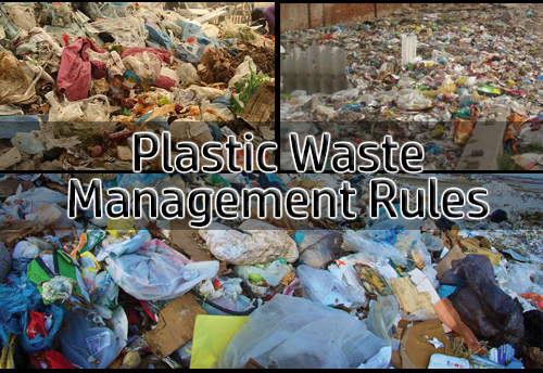 Environment Ministry notifies amendments in Plastic Waste Management Rules