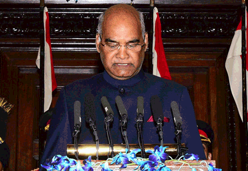 President Kovind in his first speech emphasizes role of entrepreneurs-startups