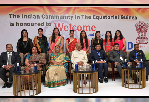 President Kovind arrives in Equatorial Guinea on historic visit