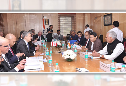India-Canada holds Dialogue on Trade and Investment held in New Delhi