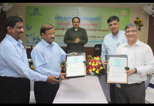 Tata Steel signs MoU with CTTC to train its employees at Kalinganagar Plant in Jaipur