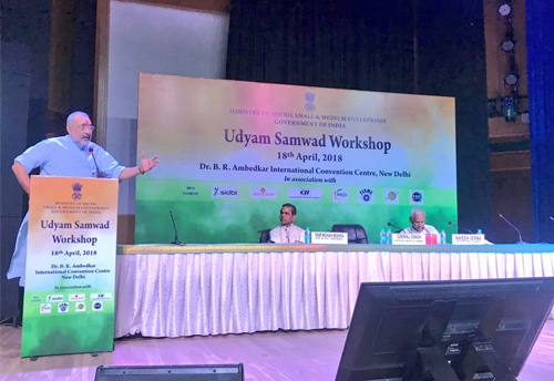 Govt holds Udyam Samwad with MSME bodies to explore issues-concerns of the sector