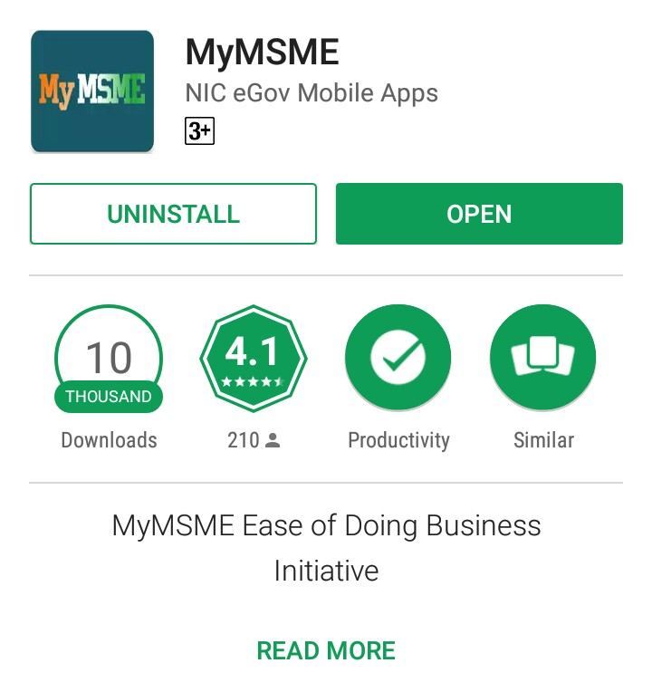 MyMSME mobile app registers 10,000 downloads in 2 days