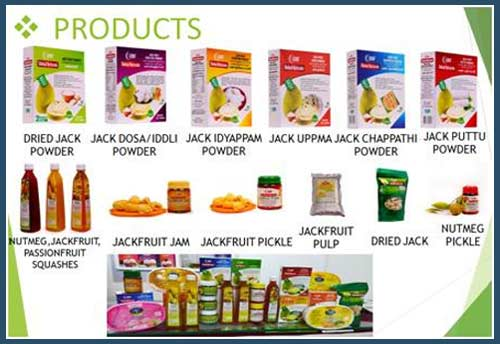 Exports of nutri-rich products from Jackfruit, Passion fruit & Nutmeg from Kerala