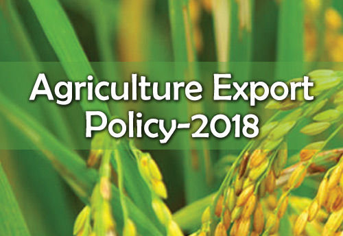 'Agriculture Export Policy-2018' gets cabinet nod; aims to double agricultural exports & farmer's income