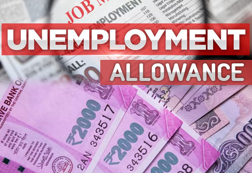 Unemployment allowance: 50% of pay for 3 months