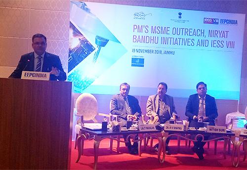 Seminar organized in Jammu on Niryat Bandhu for achieving benefits  in export sector