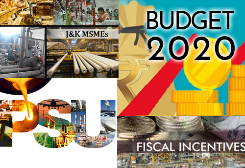 Budget 2020-21: MSMEs in J&K demand PSUs, Fiscal incentives, subsidies
