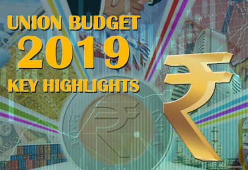 Key Highlights from Budget Speech