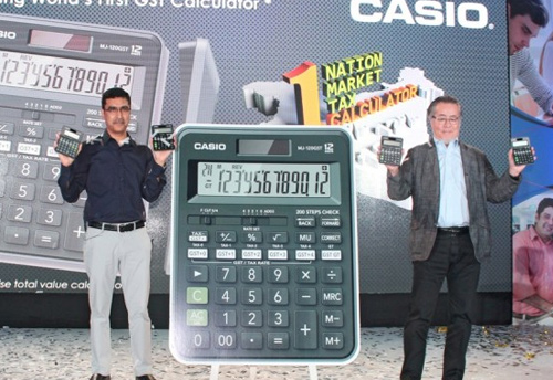 Casio launches World's first GST calculator in India