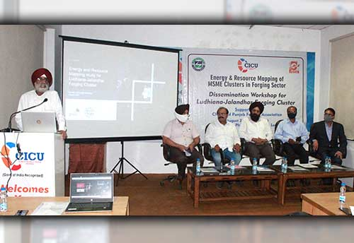 CICU conducts seminar on energy conservation in forging sector