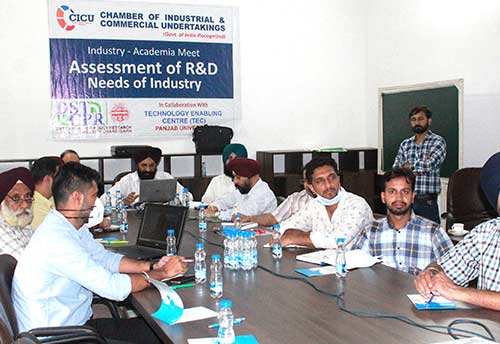CICU with Punjab University organises debate on Research & Development needs of industry