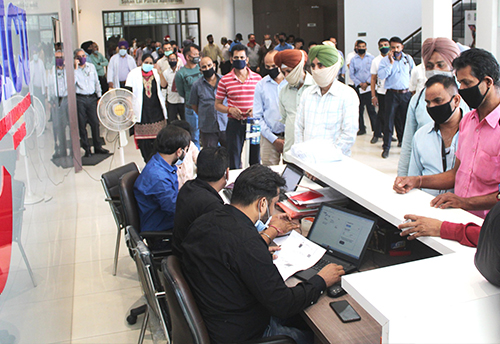 Covid vaccination camp organized for MSME owners and employees in Ludhiana