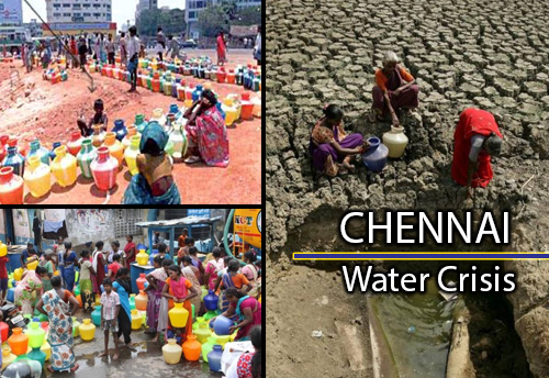 Chennai MSMEs flooded with Water Crisis