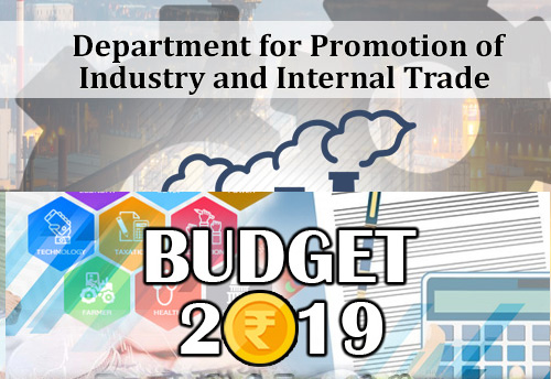 Budget 2019 will help promote MSMEs & Make in India: DPIIT