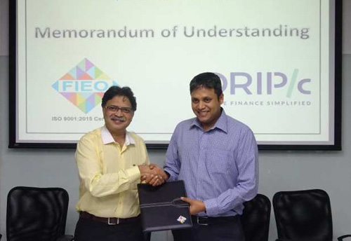 Drip Capital signed MoU with FIEO to train exporters in technology and invoice factoring: MSMEs to benefit