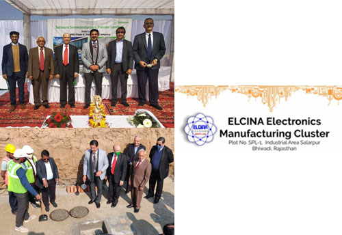 Two major electronics manufacturing projects launched at ELCINA cluster in Bhiwadi