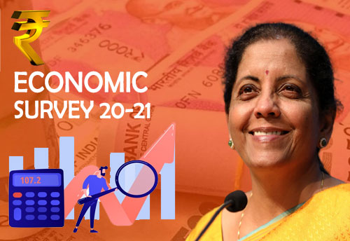 Economic Survey predicts sharp V-shape economic recovery; expects 11% GDP growth
